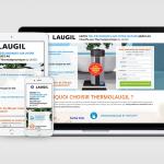 Landing page Laugil