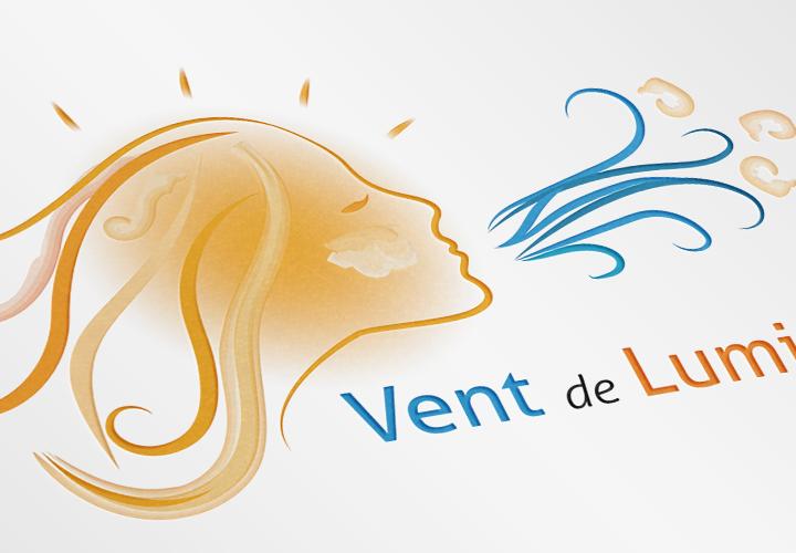 Logotype Vent de Lumière